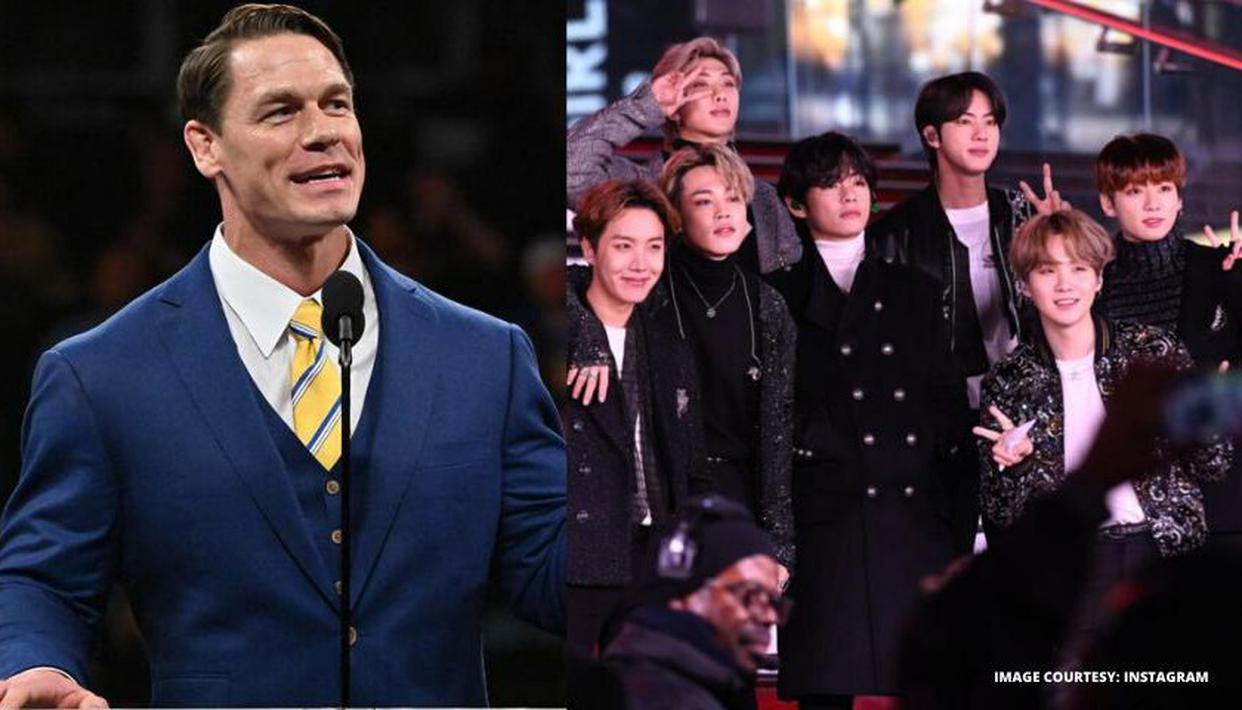 John Cena Donated $1 Million to Black Lives Matters and Praises BTS Band