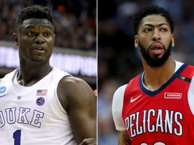 NBA 2K21 Cover Player- Zion Williamson vs Anthony Davis heats up after PS5 Trailer