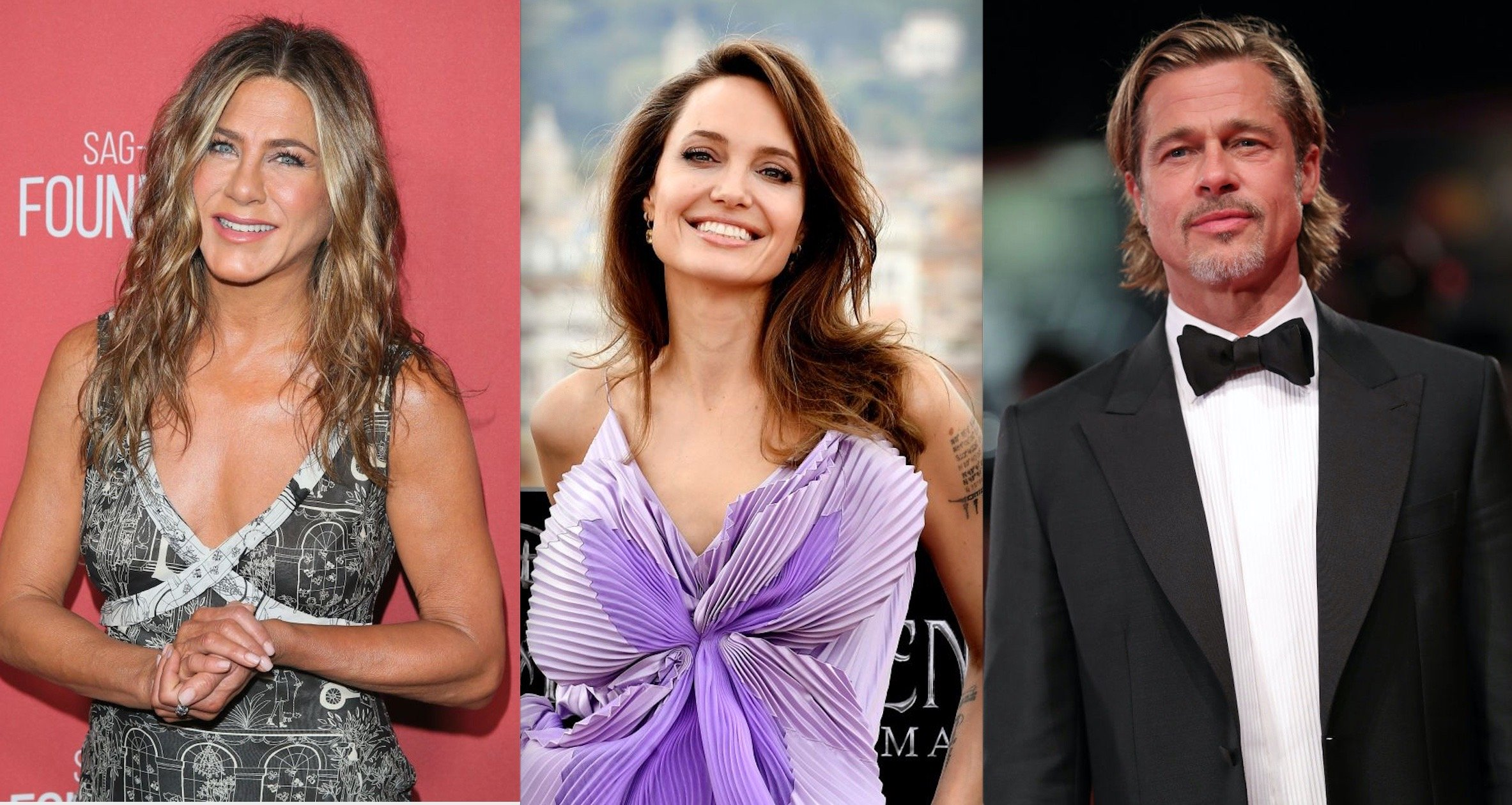 Angelina Jolie is Still Insecure about Jen and Brad getting back together