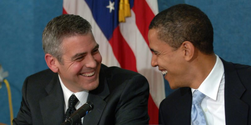 Barack Obama wants George Clooney to be the Next US President and defeat Donald Trump