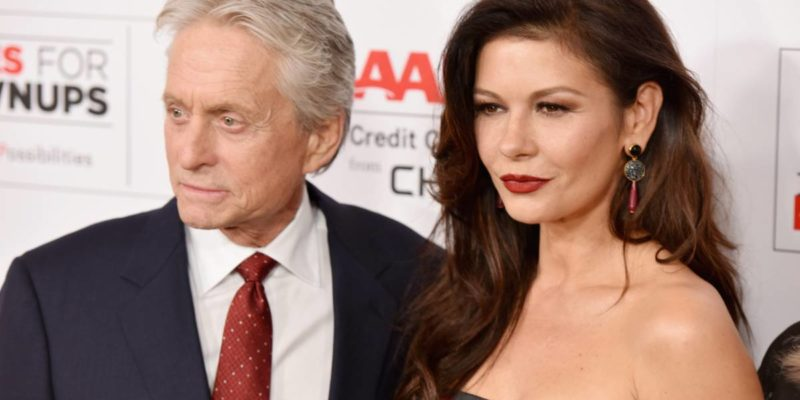 Catherine Zeta-Jones feels Michael Douglas is Too Old