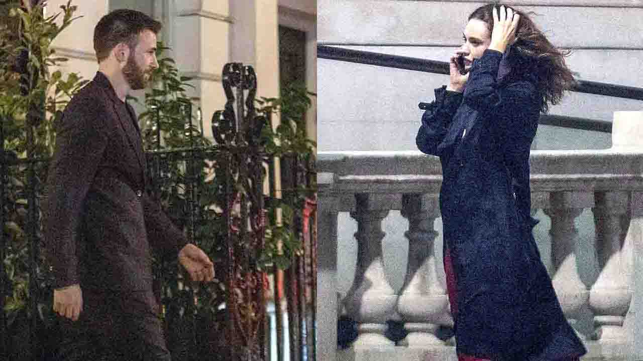 Chris Evans and Lily James are Spending Time Together