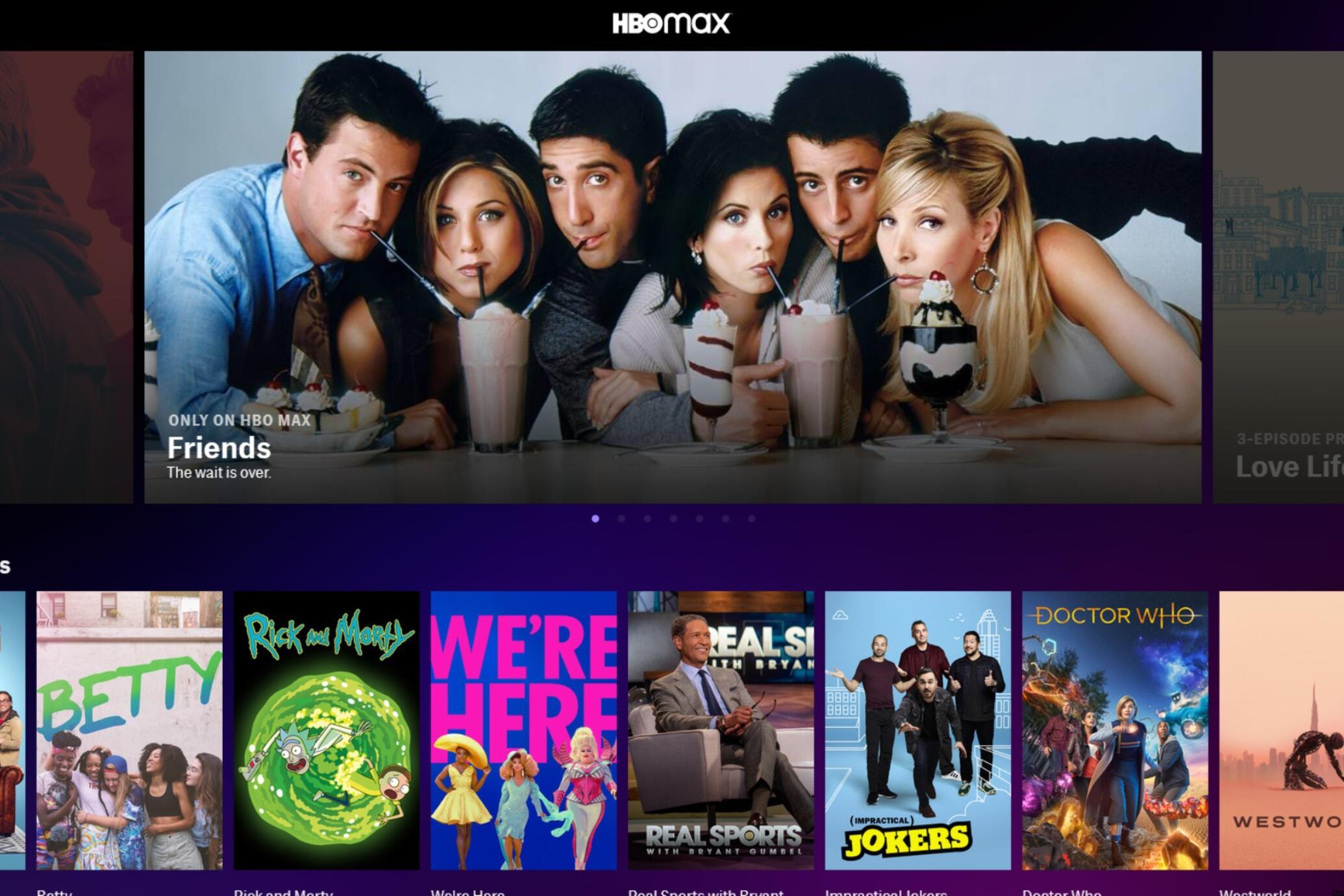 Friends Reunion HBO Max Streaming Date