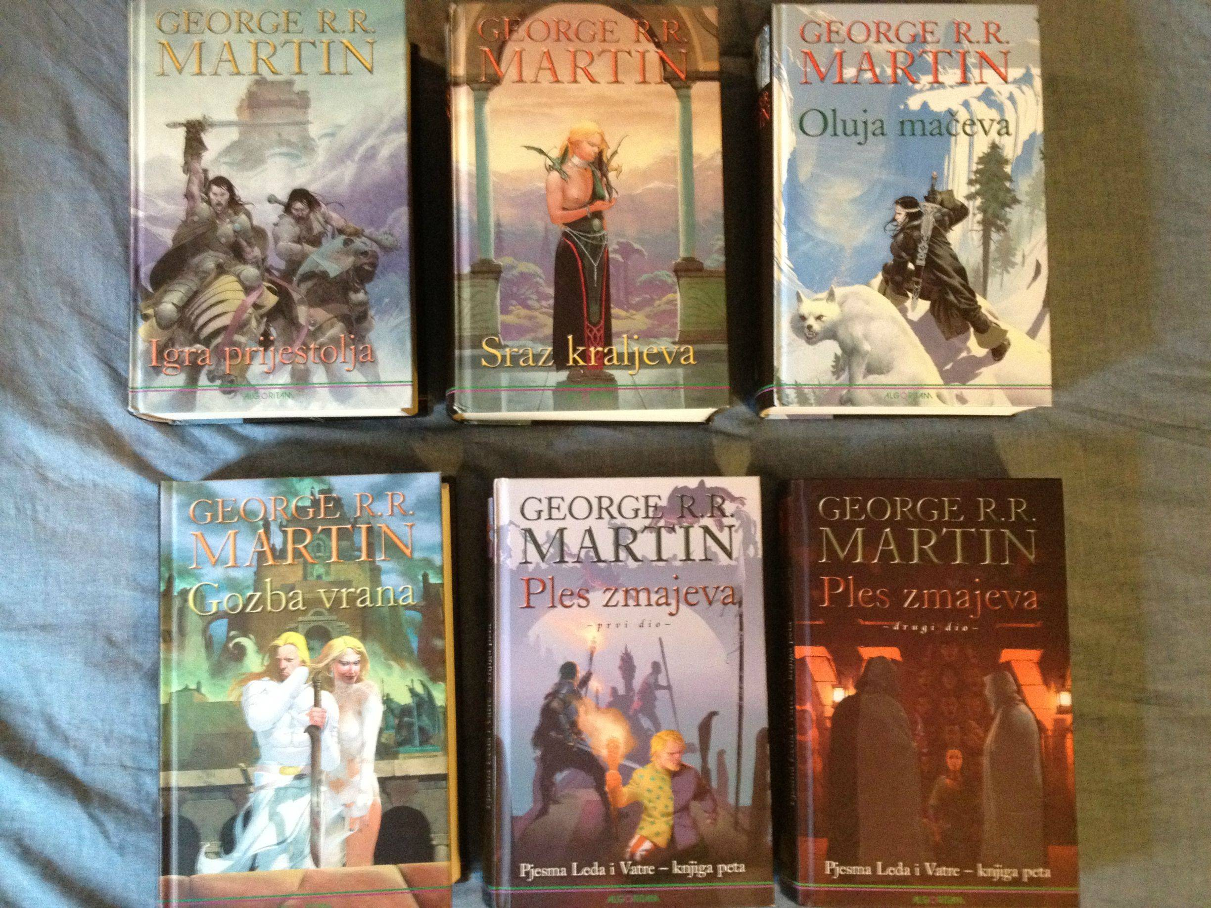 GRRM can End the ASOIAF Series with only Six Books