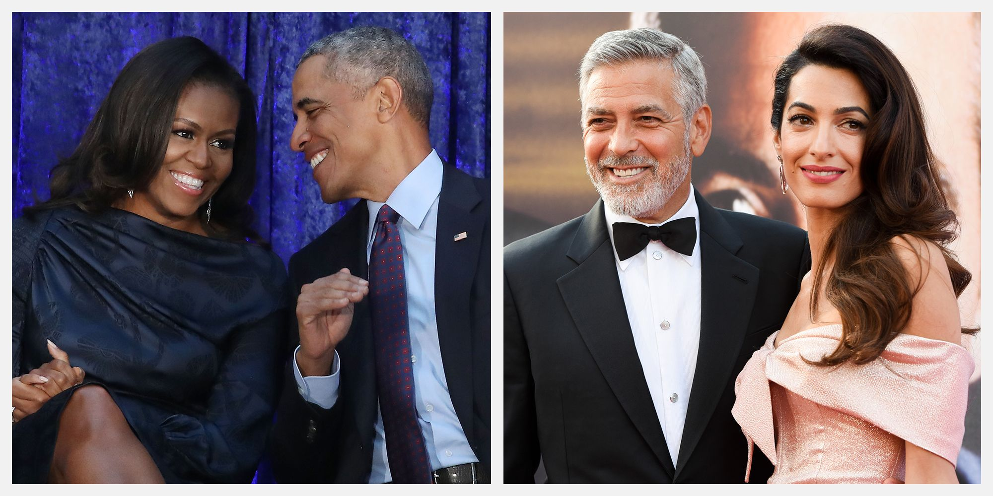 George Clooney as the US President support by Barack Obama