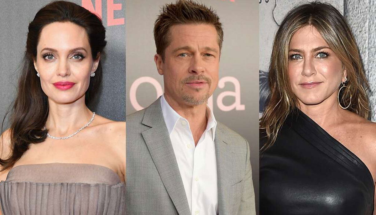 Jennifer Aniston, Brad Pitt, Angelina Jolie Love Triangle Rumors