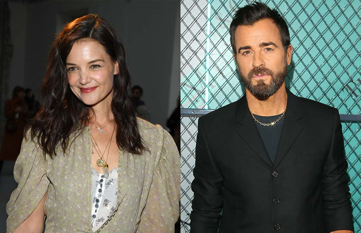 Katie Holmes and Justin Theroux Dating Rumors