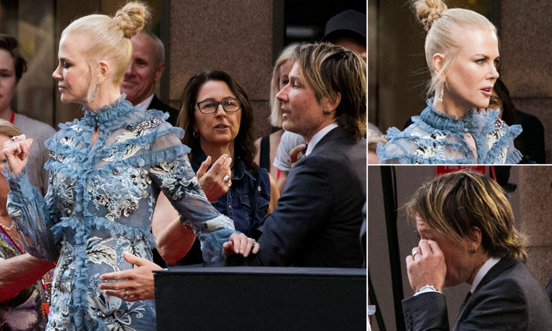 Nicole Kidman feels that Keith Urban will Leave her for a Young Female Colleague