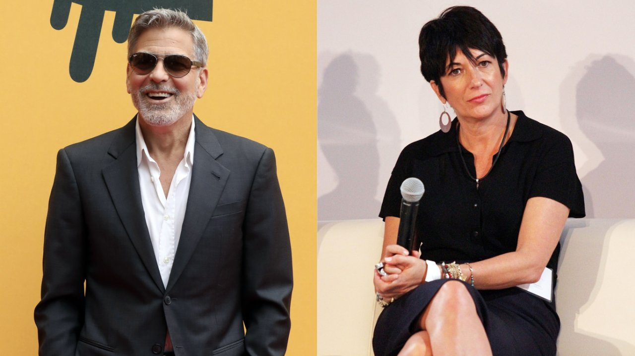 Amal Clooney is Furious over George Clooney's Affair with Ghislaine Maxwell