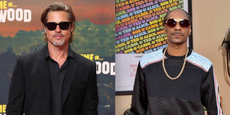 Brad Pitt Rumors- Hollywood Star wants to Learn Music from Snoop Dogg and Launch an Album