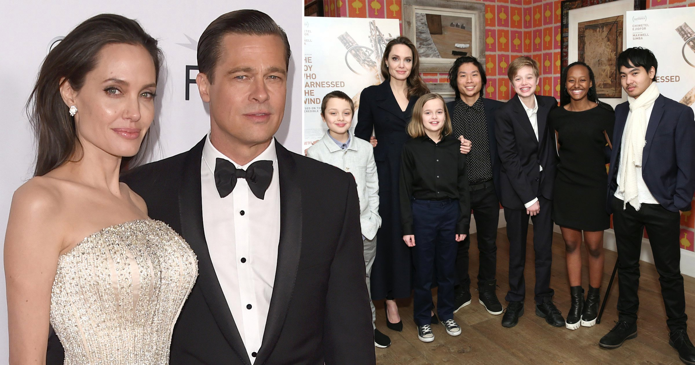 Brad Pitt and Angelina Jolie are Spending Time together for the Kids
