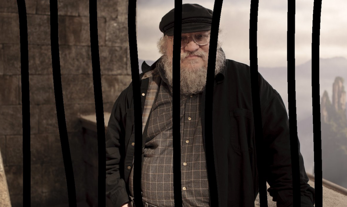 Fans want George RR Martin in Jail for Breaking his Promise