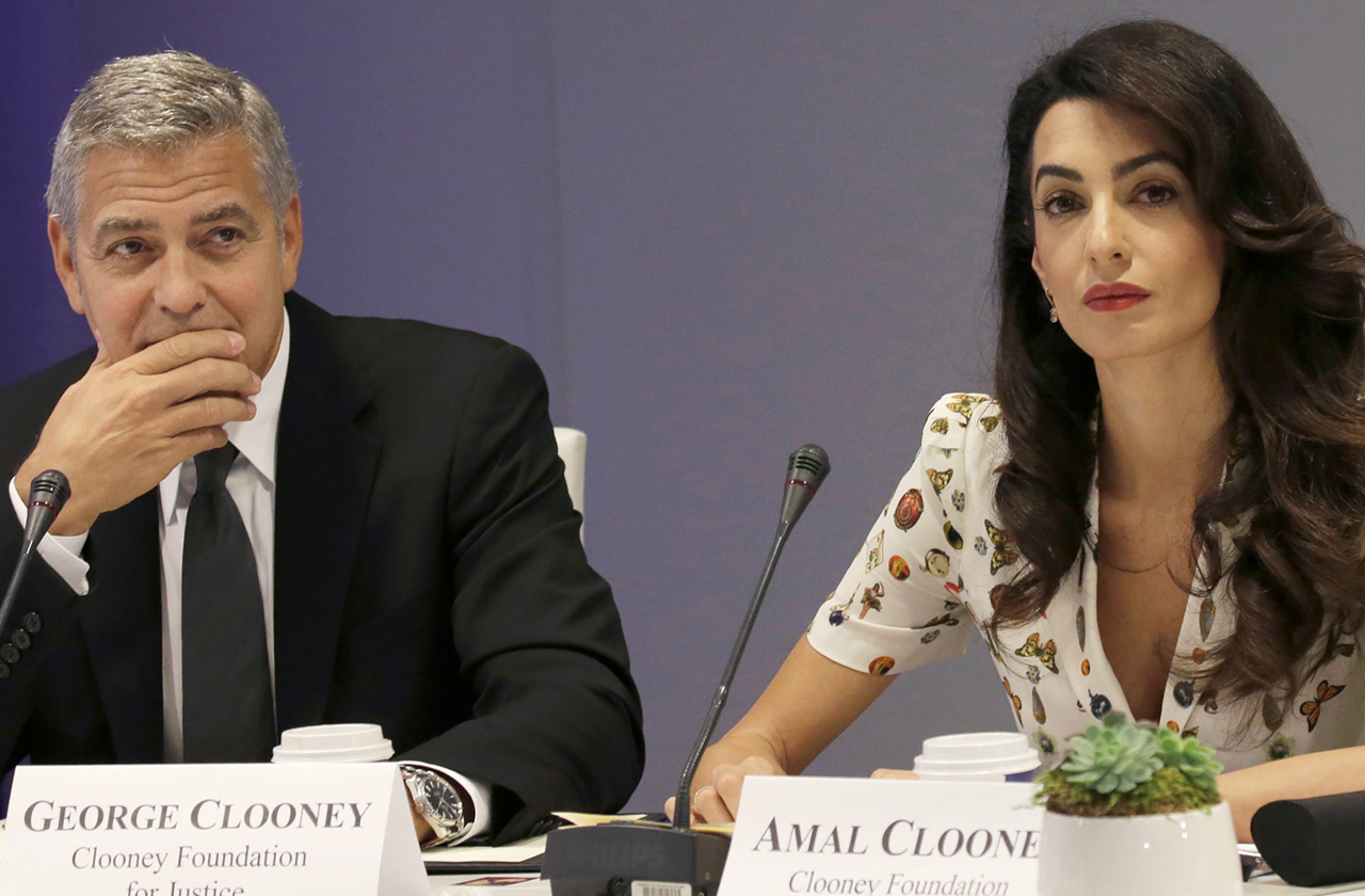 George Clooney and Amal Clooney are having a Divorce Trail Separation