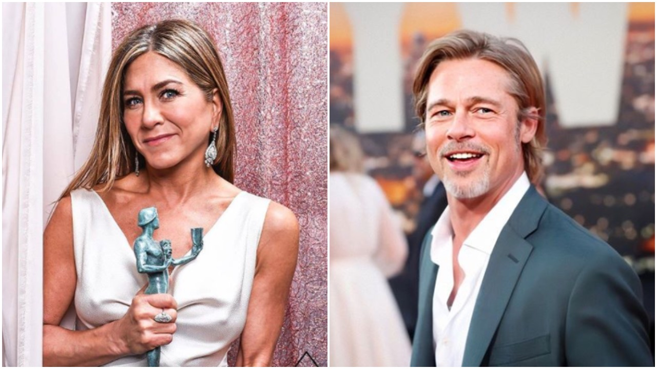 Jennifer Aniston and Brad Pitt are planning to Star in a Romantic Movie