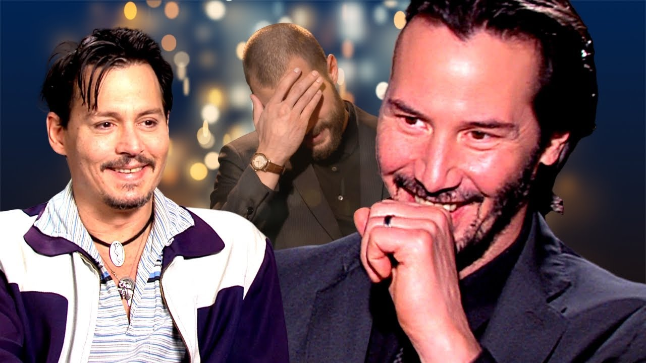 Johnny Depp and Keanu Reeves in Ghost Rider