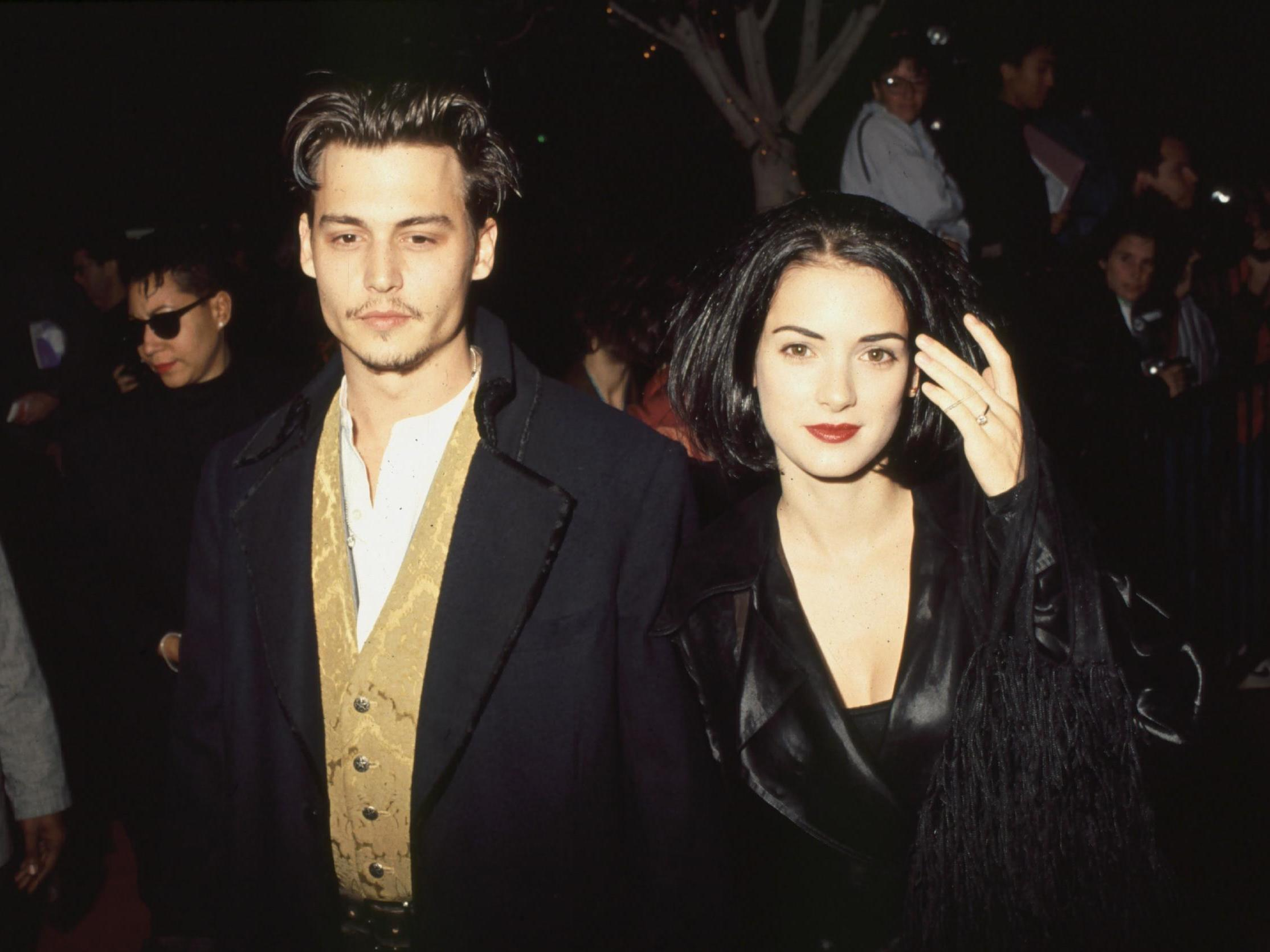 Johnny Depp is Trying to Woo Winona Ryder and Win her Love