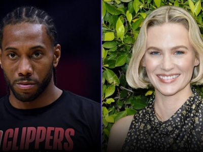 Kawhi Leonard, January Jones Dating Rumors- Actress flirts with the LA Clippers Star