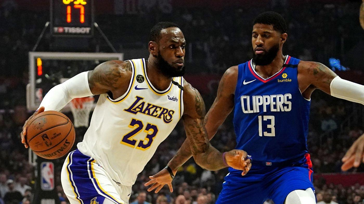 Lakers vs Clippers have No Impact on the NBA Playoffs