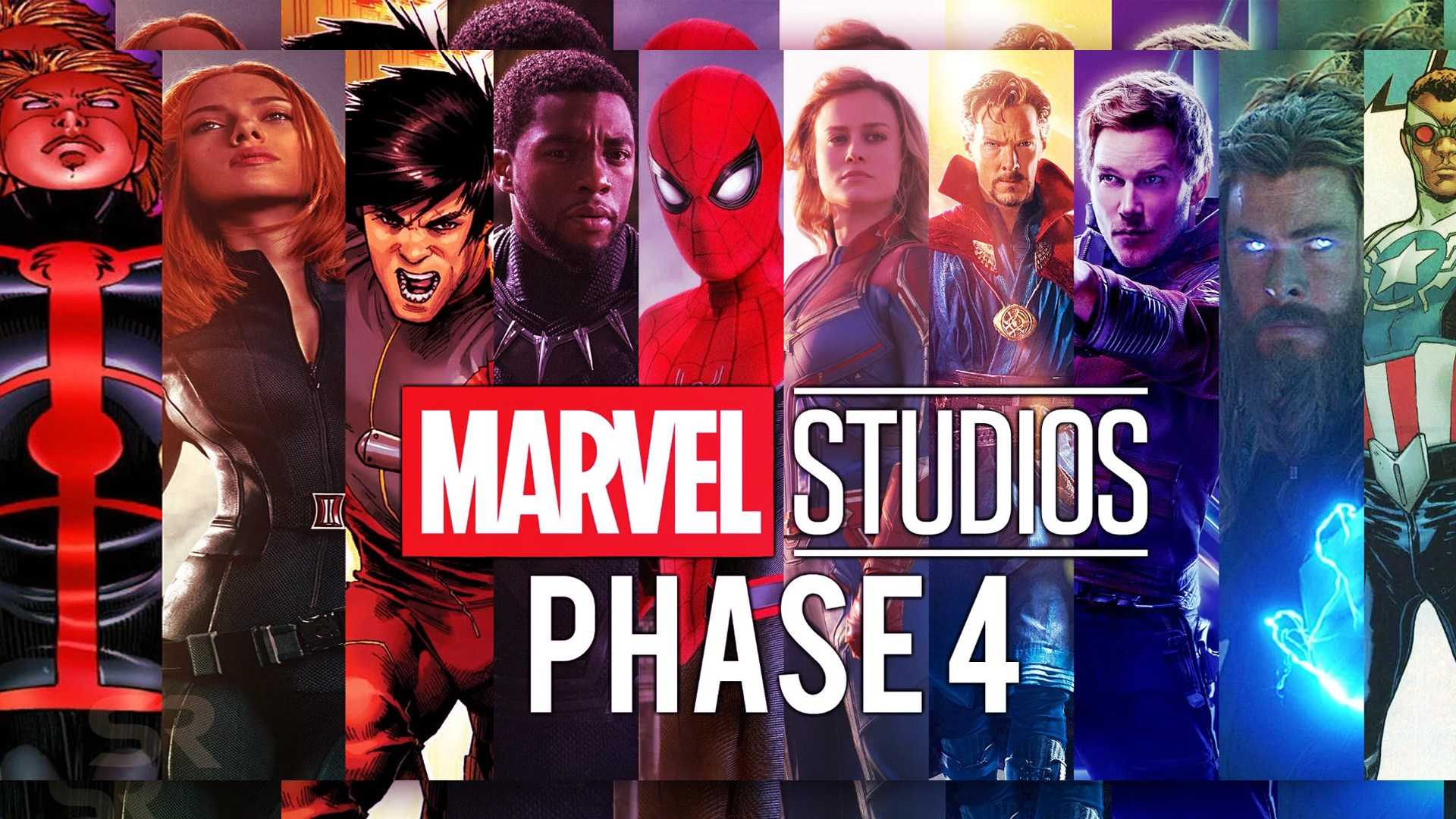 MCU Phase 4 Plans and Movies