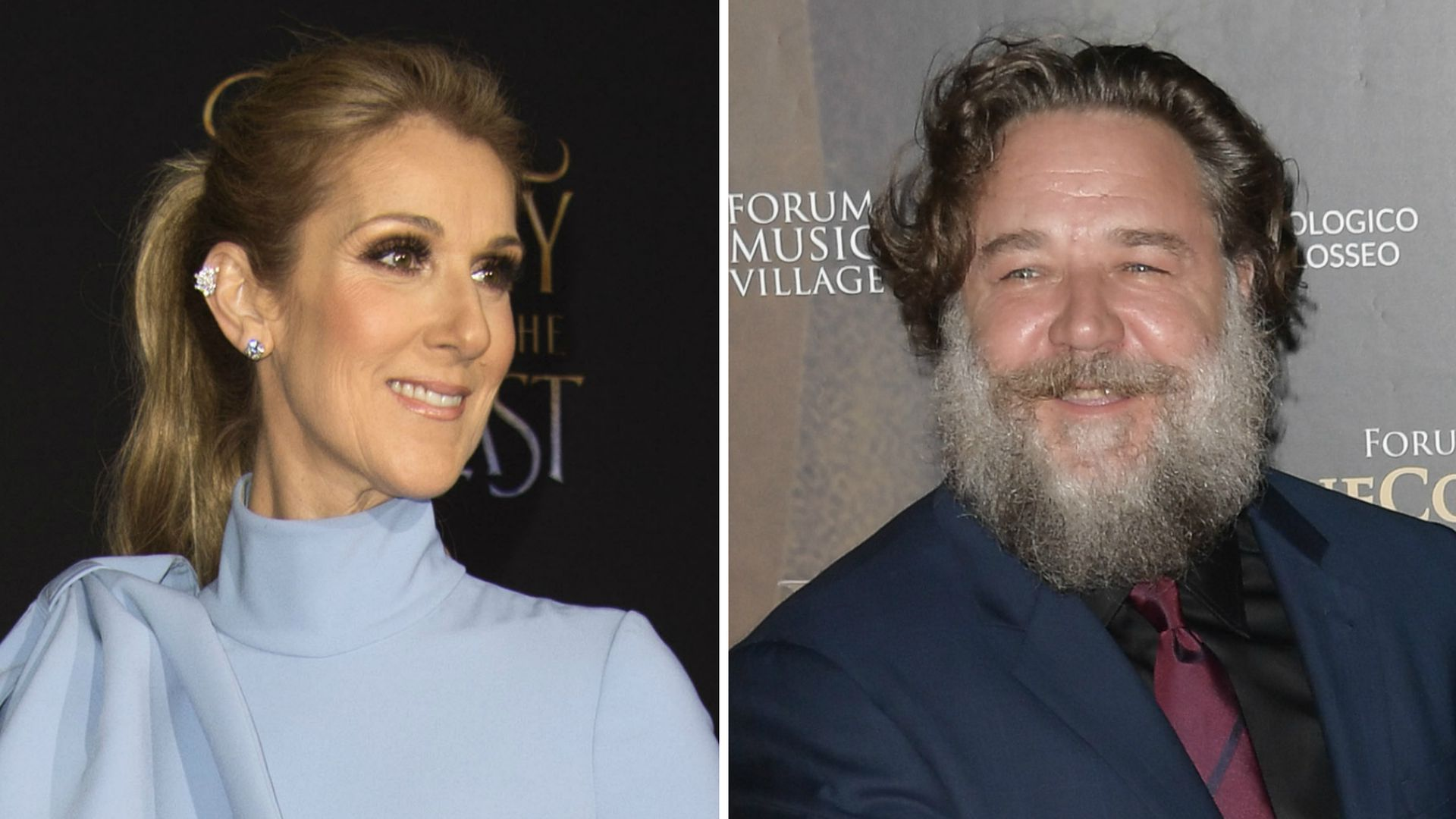 Russell Crowe and Celine Dion Dating Rumors