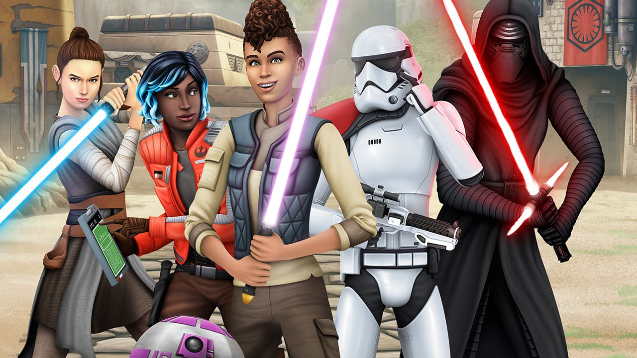 The Sims 4 Star Wars Themed Expansion Pack Details