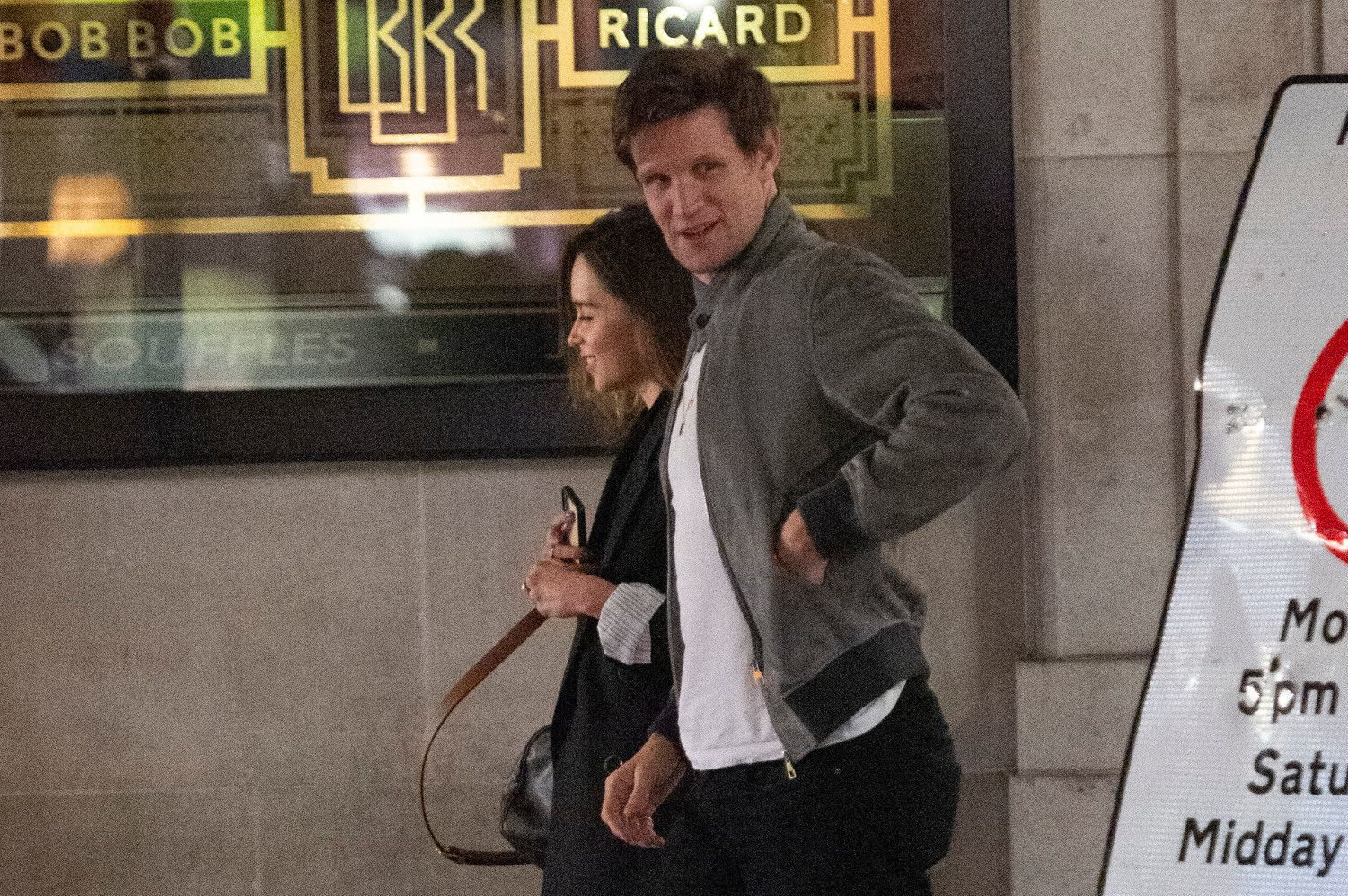 Emilia Clarke and Matt Smith are having Romantic Dinner Dates in London