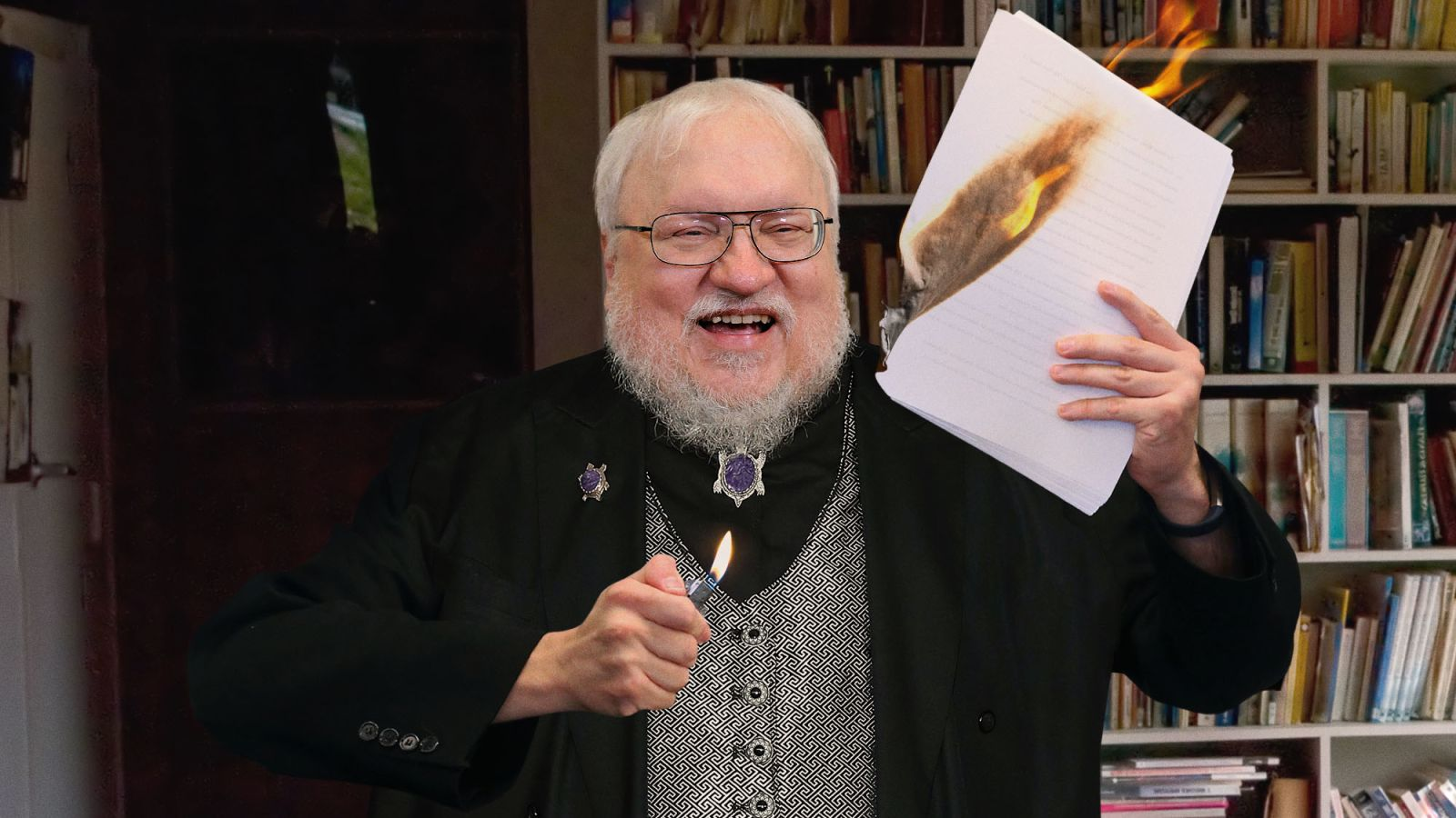 George RR Martin is in Final Stages of Editing The Winds of Winter Draft