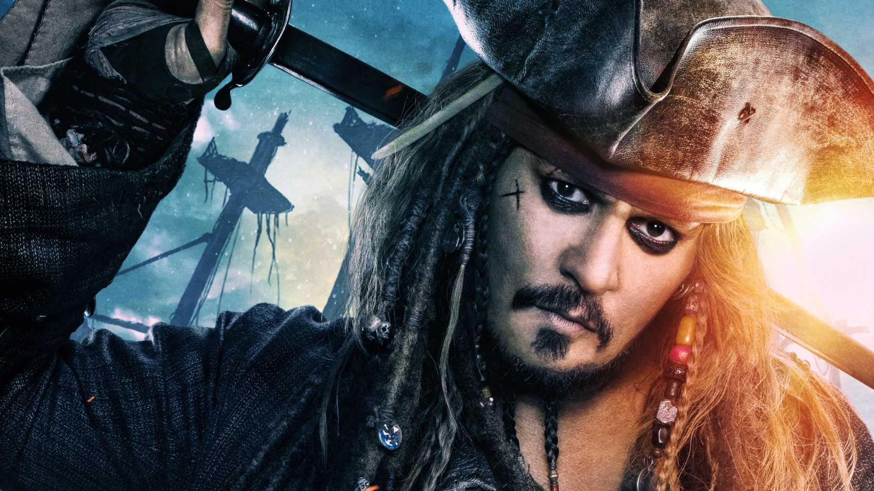 Johnny Depp in Pirates 6 and other Movies
