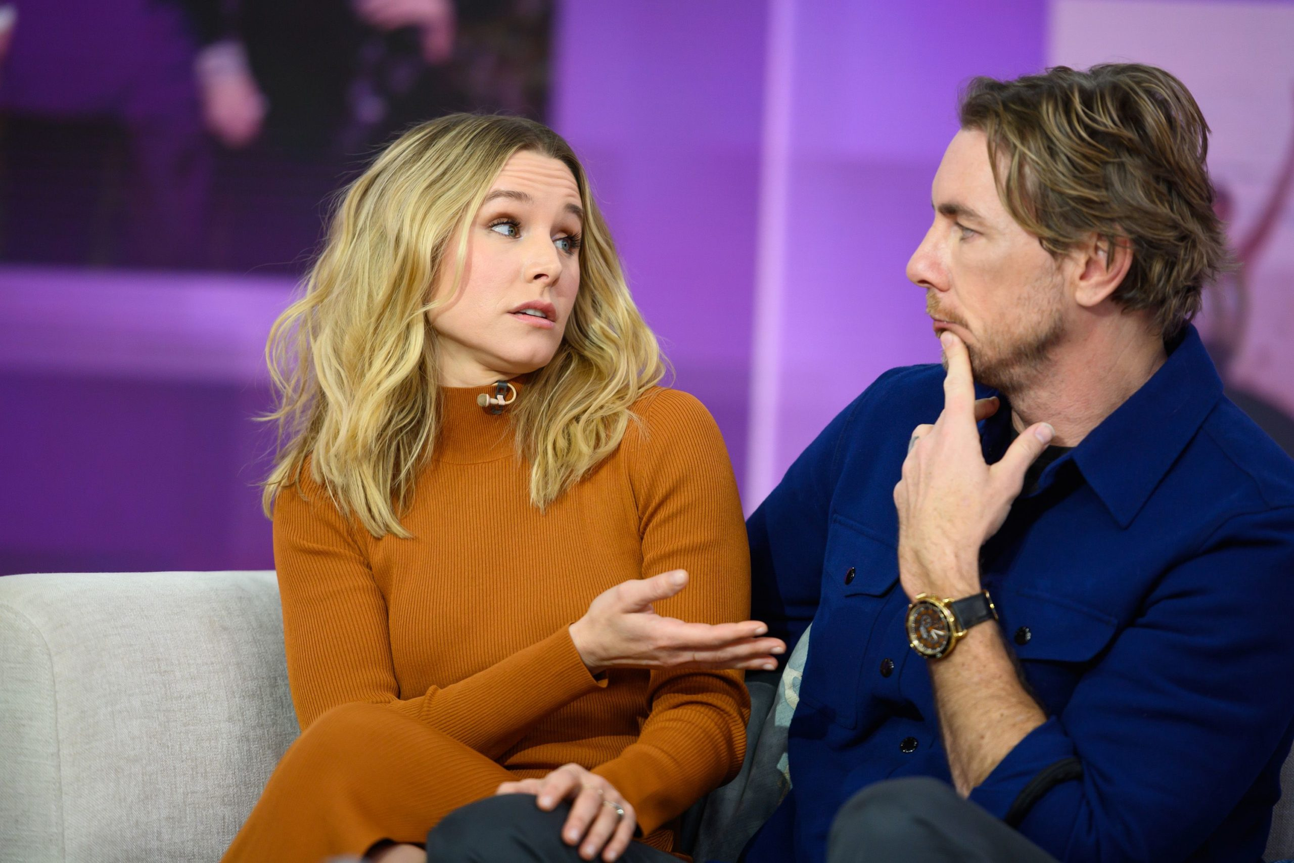 Kristen Bell and Dax Shepard are Fighting in the Quarantine