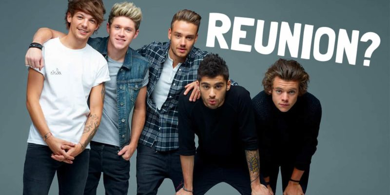 One Direction Reunion- James Corden brings 1D back Together for the Late Night Show