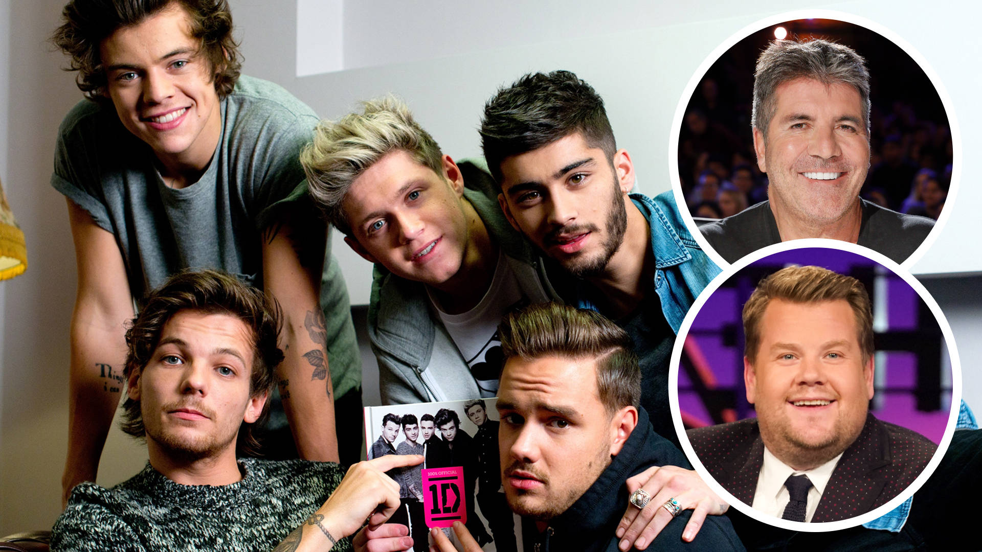 One Direction Reunion on the James Corden Show