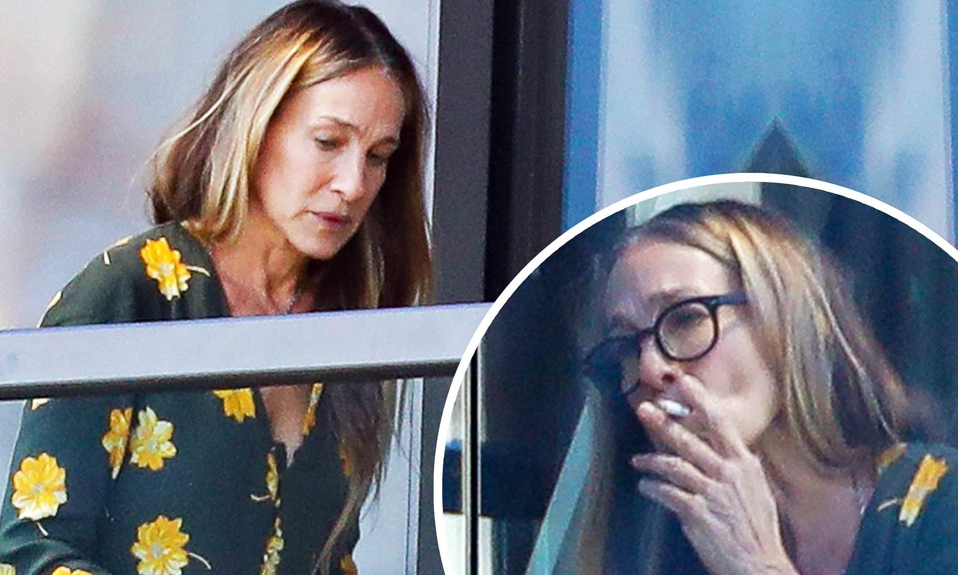 Sarah Jessica Parker and Matthew Broderick Marriage Trouble due to her Smoking