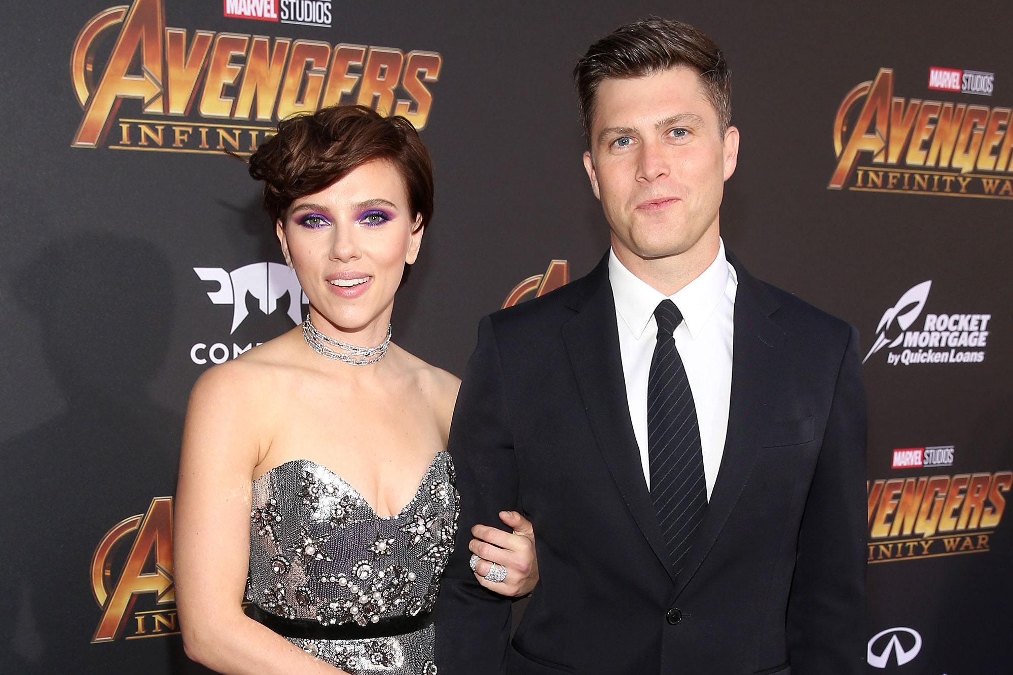 Scarlett Johansson and Colin Jost are Planning to get Married and have a Baby