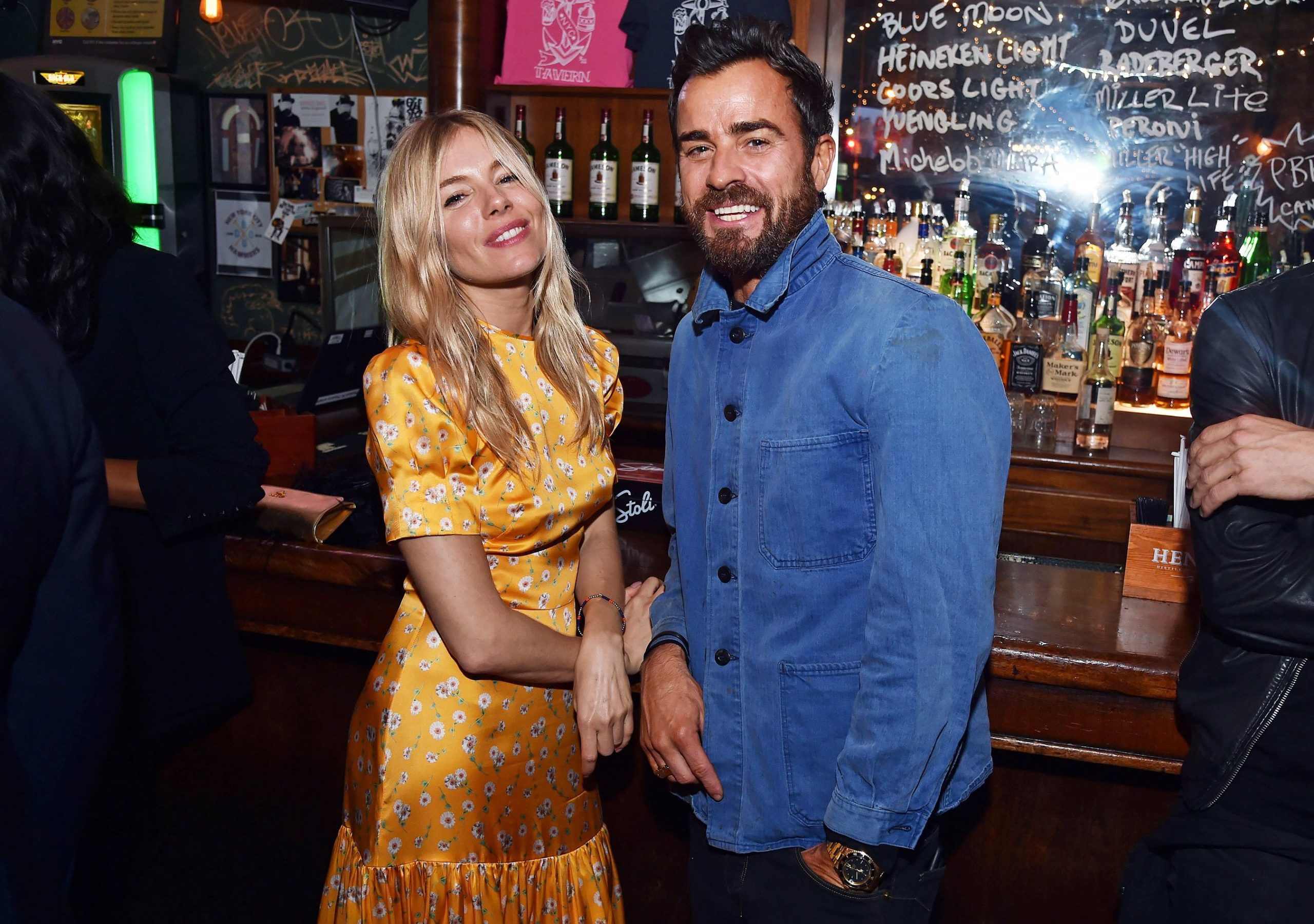 Sienna Miller and Justin Theroux Dating Rumors