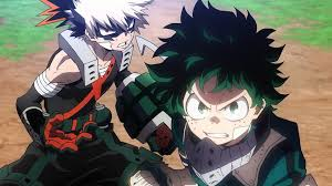 My Hero Academia Deku and Bakugo