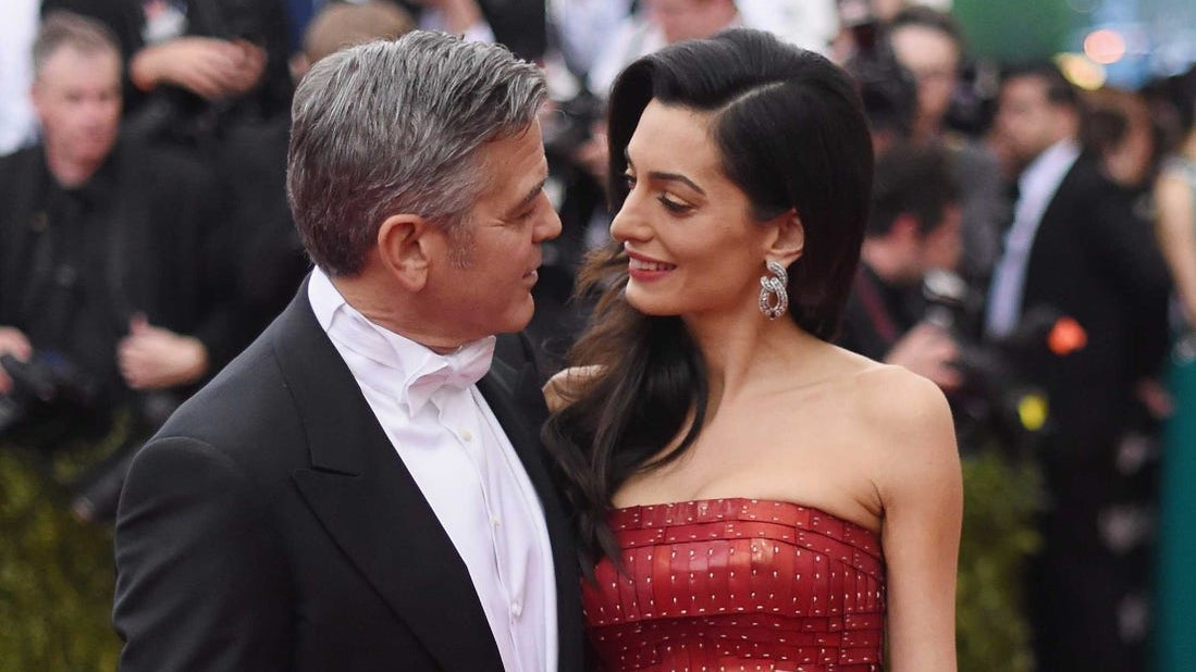 the clooneys