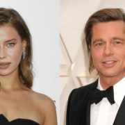 Brad Pitt, Nicole Poturalski Breakup Rumors- Couple was Faking the Relationship for Brand Values?