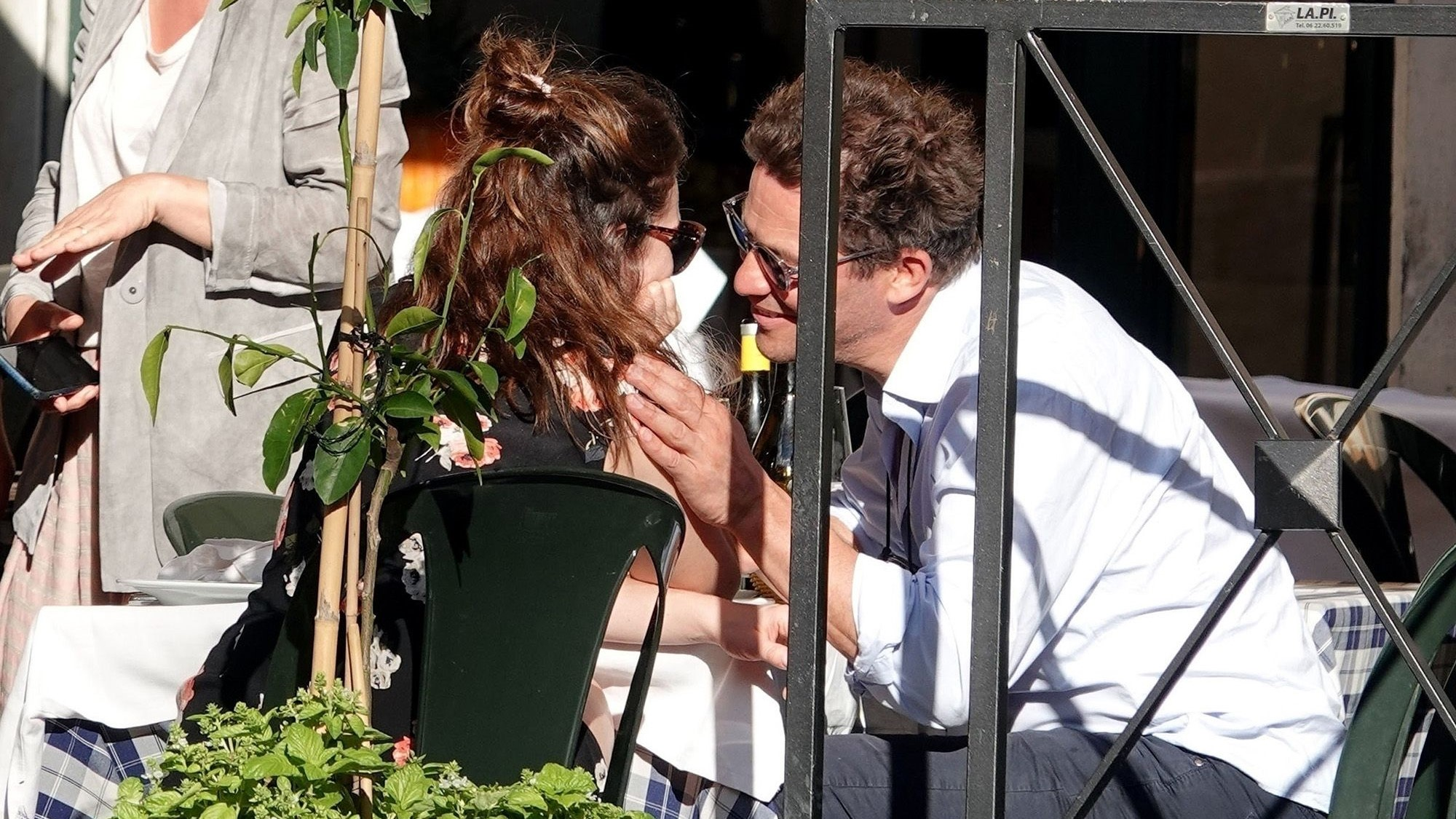 Lily James Dominic West