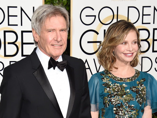 Harrison ford and wife