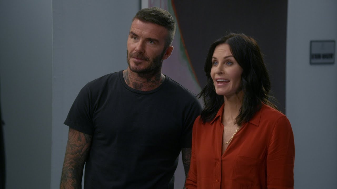 David Beckham, Courtney Cox Rumors and Real Truth