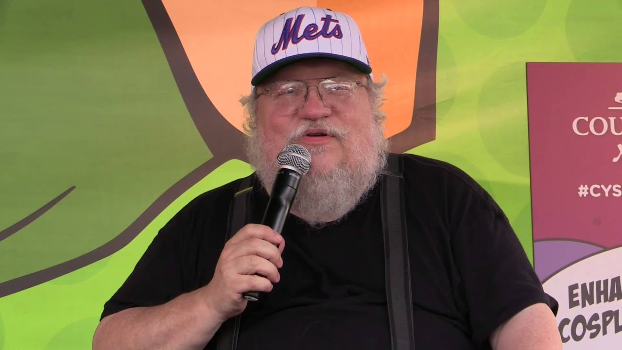 George RR Martin updates his Life Events on Twitter