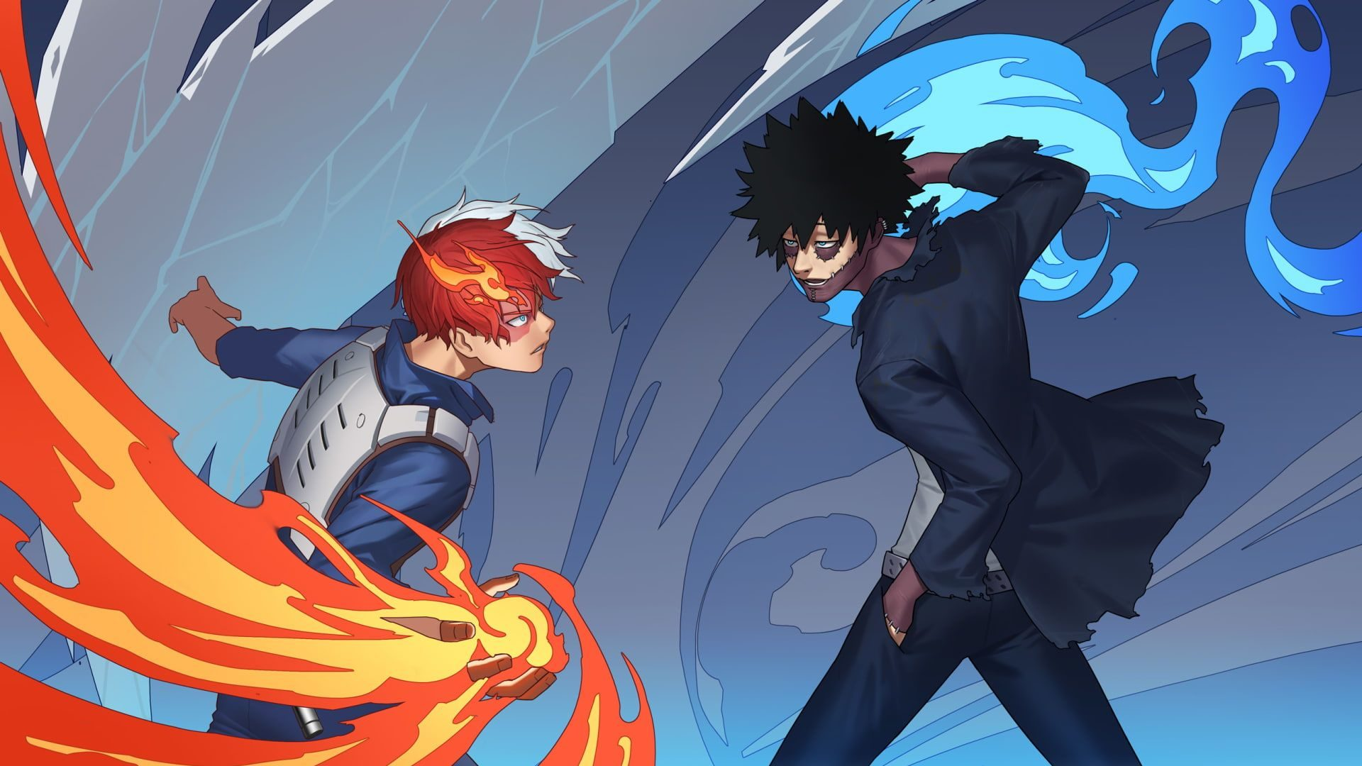 My Hero Academia Chapter 291 Release Date, Spoilers- Shoto will Fight Dabi to save Endeavor