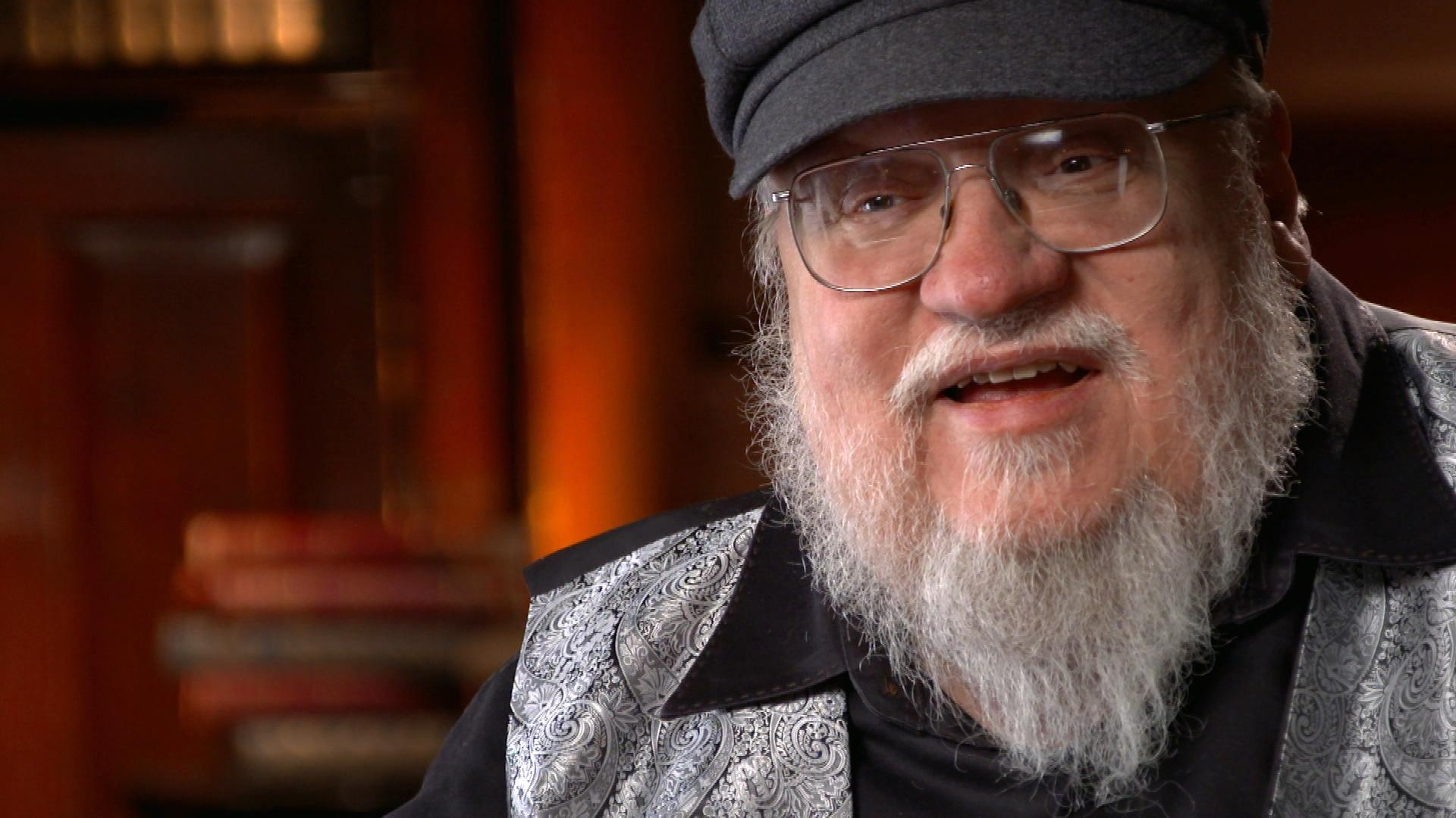 George RR Martin on how he writes The Winds of Winter Book