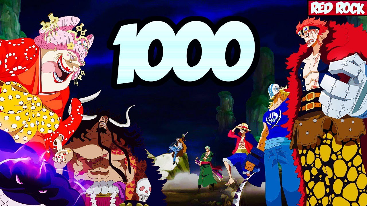 One Piece Chapter 1000 Release Date and Read Manga Legally