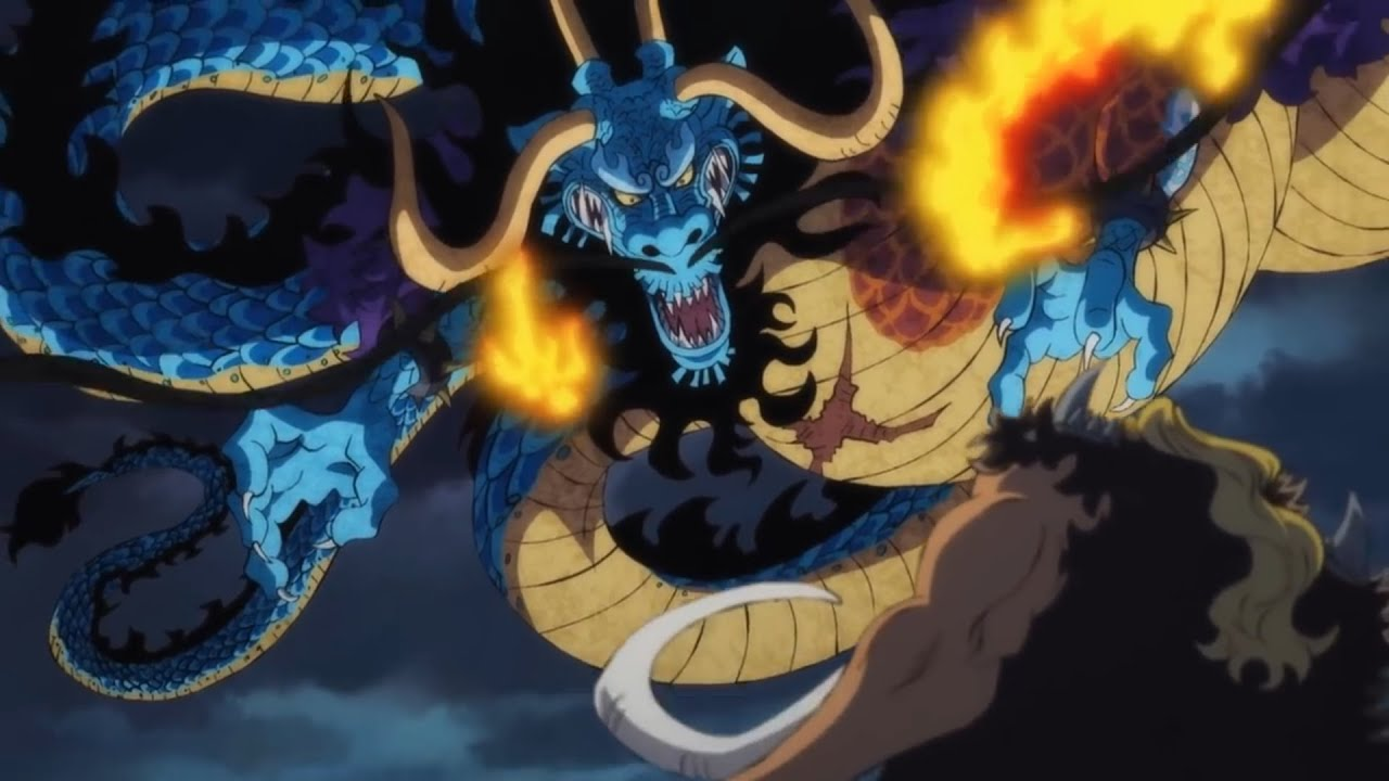 One Piece Chapter 999 Spoilers for Kaido's Devil Fruit Explained