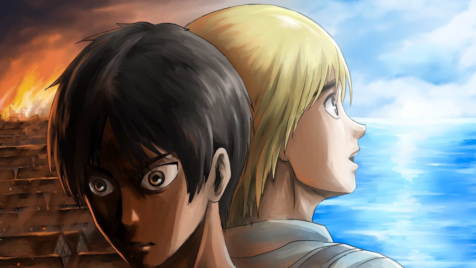 Attack On Titan Chapter 137 Spoilers Predictions Eren Explains Armin The Reason For Rumbling Blocktoro A century ago, the grotesque giants known as titans appeared and consumed all but a few thousand humans. attack on titan chapter 137 spoilers