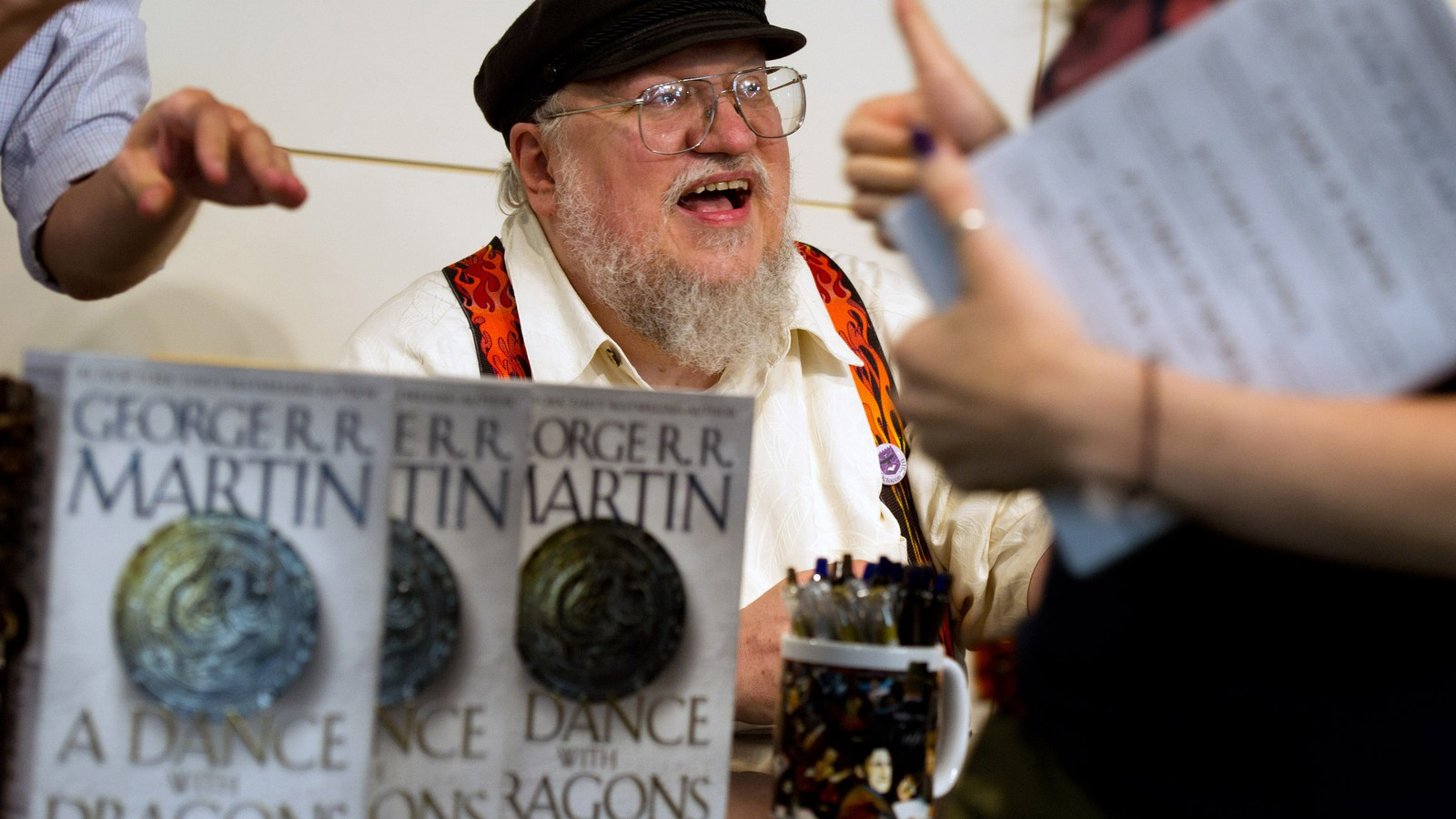 George RR Martin have so much Work Stress apart from the Book