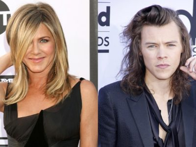Jennifer Aniston, Harry Styles Rumors- Courtney Cox wanted Jen to Date the One Direction Singer?