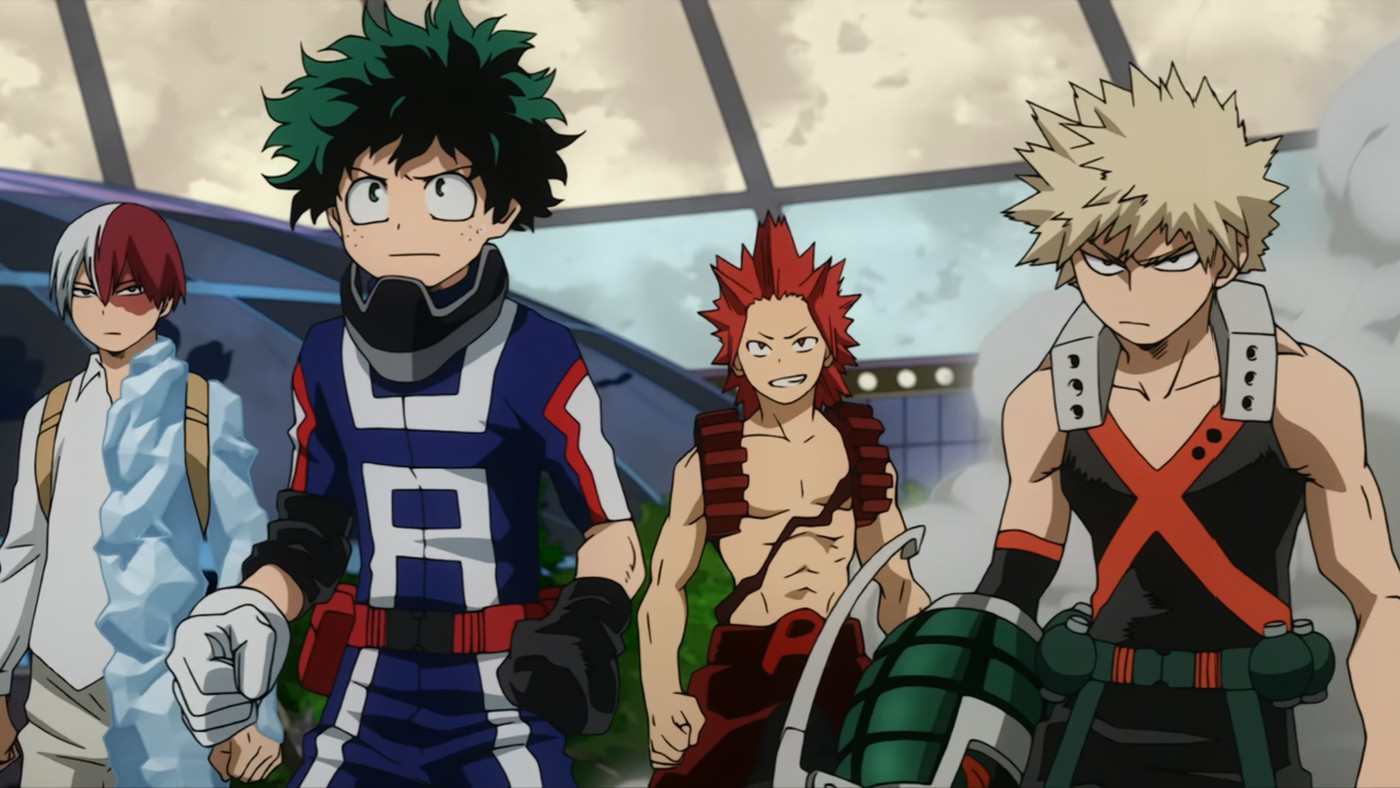 My Hero Academia Chapter 297 Read Online Legally