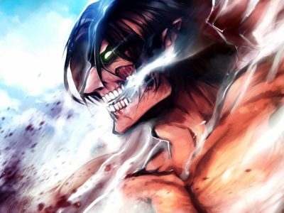 Attack on Titan Chapter 137 Magazine Cover, Spoilers- Eren's Attack Titan and Armin on the Cover